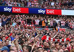 Sky Bet Branding - Mandatory by-line: Paul Terry/JMP - 26/05/2019 - FOOTBALL - Wembley Stadium - London, England - Charlton Athletic v Sunderland - Sky Bet League One Play-off Final