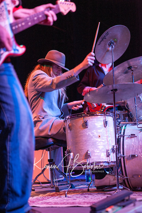 Michael Vincent Band at the Flying Monkey in Plymouth Saturday, January 12, 2013.  Karen Bobotas/for Michael Vincent Band