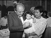 1987 - Naturalisation Ceremony For Vietnamese Refugees. (R61).
