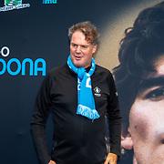 NLD/Amsterdam/20190804 -  Première Diego Maradona inloop, Zaakwaarnemer Guido Albers