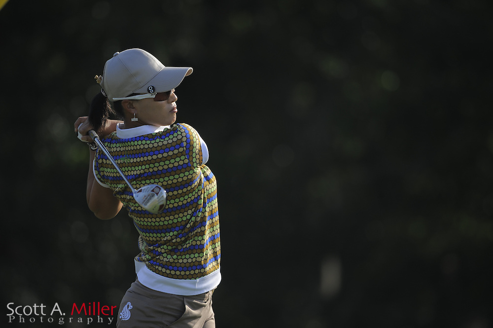 Se Ri Pak in action during the second round of the Ginn Open at Reunion Resort on April 18, 2008 in Reunion, Florida...©2008 Scott A. Miller