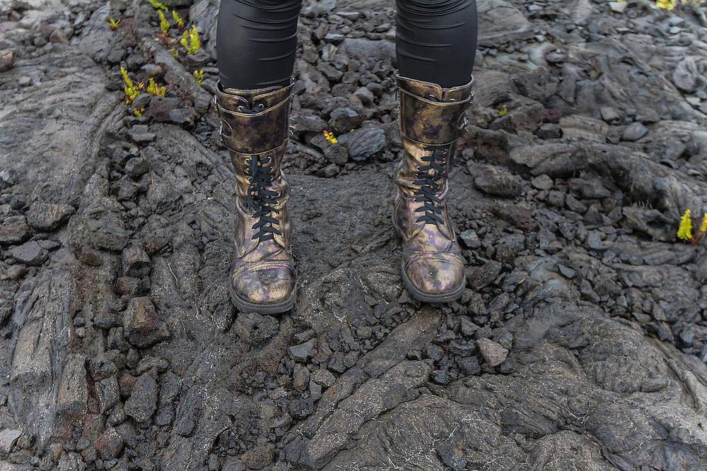 Lava Boots Kilauea