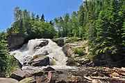 Chutes de la rivière Papinachois<br /> Manicouagan<br /> Quebec<br /> Canada
