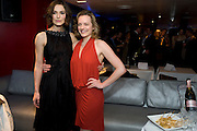 Keira Knightley; Elisabeth Moss following the press night of 'The Children's Hour' at Comedy Theatre. Afterparty Penthouse Leicester Sq. London. 9 February 2011. -DO NOT ARCHIVE-© Copyright Photograph by Dafydd Jones. 248 Clapham Rd. London SW9 0PZ. Tel 0207 820 0771. www.dafjones.com.