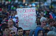 activists particiapte in Anti-NATO protests in Chicago.