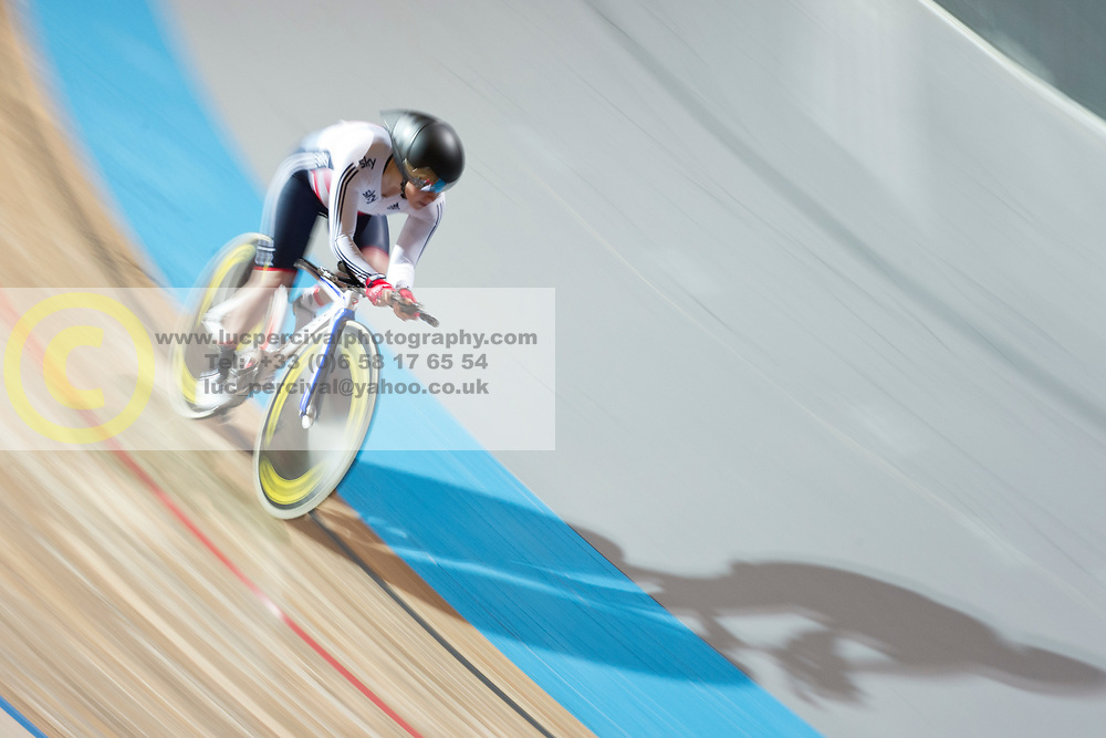 , GBR, 500m TT, 2015 UCI Para-Cycling Track World Championships, Apeldoorn, Netherlands