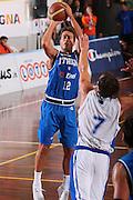 DESCRIZIONE : Cagliari Torneo Internazionale Sardegna a canestro Italia Estonia <br /> GIOCATORE : Massimo Bulleri <br /> SQUADRA : Nazionale Italia Uomini Italy <br /> EVENTO : Raduno Collegiale Nazionale Maschile <br /> GARA : Italia Estonia Italy Estonia <br /> DATA : 13/08/2008 <br /> CATEGORIA : Tiro <br /> SPORT : Pallacanestro <br /> AUTORE : Agenzia Ciamillo-Castoria/S.Silvestri <br /> Galleria : Fip Nazionali 2008 <br /> Fotonotizia : Cagliari Torneo Internazionale Sardegna a canestro Italia Estonia <br /> Predefinita :