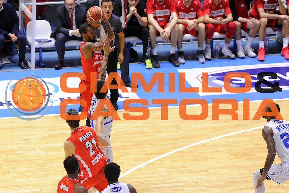 Maynor Eric<br /> Enel Brindisi, Openjobmetis Varese<br /> Lega Basket Serie A 2016/2017<br /> Brindisi, 26/02//2017<br /> Foto Ciamillo-Castoria