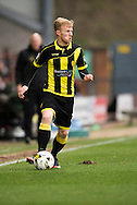 Mark Duffy of Burton Albion in action during the Sky Bet League 1 match between Burton Albion and Oldham Athletic at the Pirelli Stadium, Burton upon Trent, England on 26 March 2016. Photo by Brandon Griffiths.