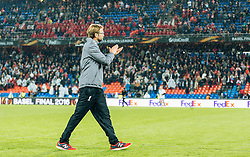 18.05.2016, St. Jakob Park, Basel, SUI, UEFA EL, FC Liverpool vs Sevilla FC, Finale, im Bild Trainer Juergen Klopp (FC Liverpool) nach der Niederlage // Trainer Juergen Klopp (FC Liverpool) after losing the final during the Final Match of the UEFA Europaleague between FC Liverpool and Sevilla FC at the St. Jakob Park in Basel, Switzerland on 2016/05/18. EXPA Pictures © 2016, PhotoCredit: EXPA/ JFK