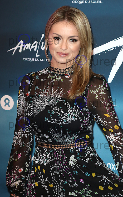 Ola Jordan, Cirque du Soleil Amaluna - opening night, Royal Albert Hall, London UK, 12 January 2017, Photo by Richard Goldschmidt