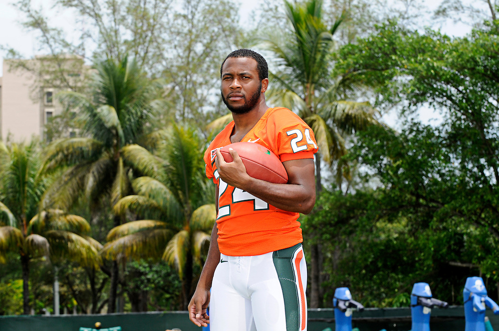 2012 Miami Hurricanes Football Photo Day