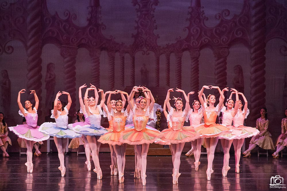 Bay Pointe Ballet performs The Nutcracker at the San Mateo Performing Arts Center in San Mateo, California, on December 13, 2014. (Stan Olszewski/SOSKIphoto)