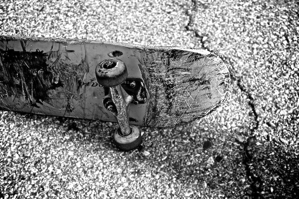 The grit of the Detroit skateboard on the streets of Detroit Corktown series