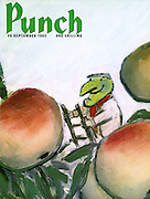 Punch cover 26 September 1962