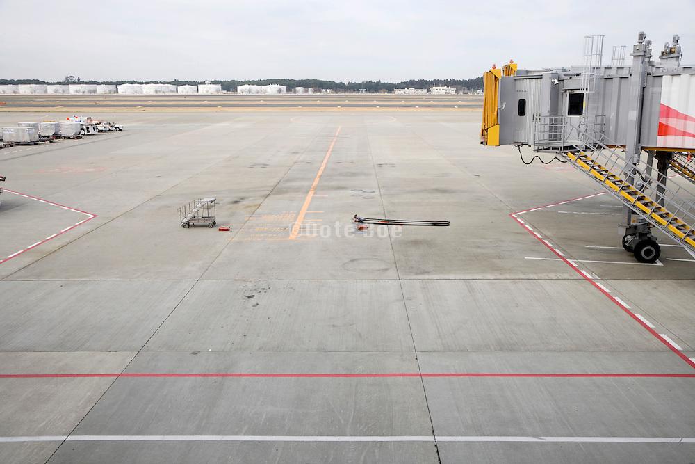 gate at Narita International airport Tokyo Japan