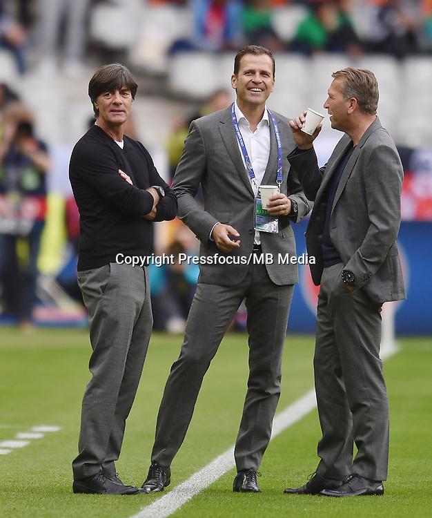 2016.06.16 Saint-Denis<br /> Pilka nozna Euro 2016<br /> mecz grupy C Polska - Niemcy<br /> N/z Joachim Loew trener head coach<br /> Foto Lukasz Laskowski / PressFocus<br /> <br /> 2016.06.16 Saint-Denis<br /> Football UEFA Euro 2016 group C game between Poland and Germany<br /> Joachim Loew trener head coach<br /> Credit: Lukasz Laskowski / PressFocus