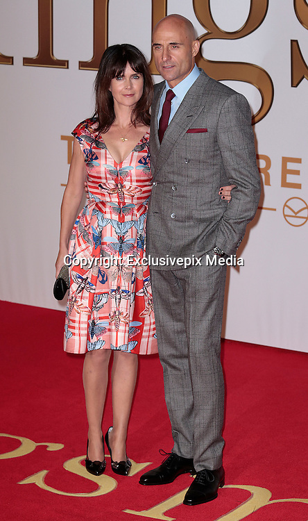 "Jan 14, 2015 - ""Kingsman: The Secret Service"" - World Premiere - Red Carpet Arrivals at Odeon,  Leicester Square, London<br /> <br /> Pictured: Liza Marshall and Mark Strong<br /> ©Exclusivepix Media"