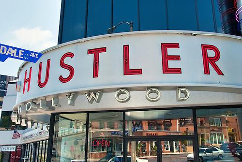 hollywood west ca Hustler
