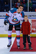 KELOWNA, CANADA - FEBRUARY 06: Third Star of the Game at the Kelowna Rockets game on February 06, 2019 at Prospera Place in Kelowna, British Columbia, Canada. (Photo By Cindy Rogers/Nyasa Photography, *** Local Caption ***