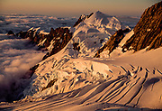Balfour glacier crevasses, Westland Tai Poutini National Park, West Coast, New Zealand.