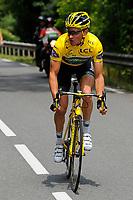 CYCLING - TOUR DE FRANCE 2011 - STAGE 10 - Aurillac > Carmaux (158 km) - 12/07/2011 - PHOTO : JULIEN CROSNIER / DPPI -THOMAS VOECKLER (FRA) / TEAM EUROPCAR