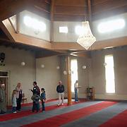 Huizerdag 2002, Open dag marokkaanse moske, gebedsruimte, uitleg