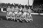 1963 - Shamrock Rovers v Cork Celtic at Glenmalure Park, Milltown