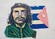 Image of Ernesto Che Guevara in Horquita, Cienfuegos, Cuba.
