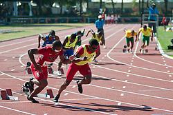 BROWN David Guide:  SLADE Roland, USA, 200m, T11, 2013 IPC Athletics World Championships, Lyon, France
