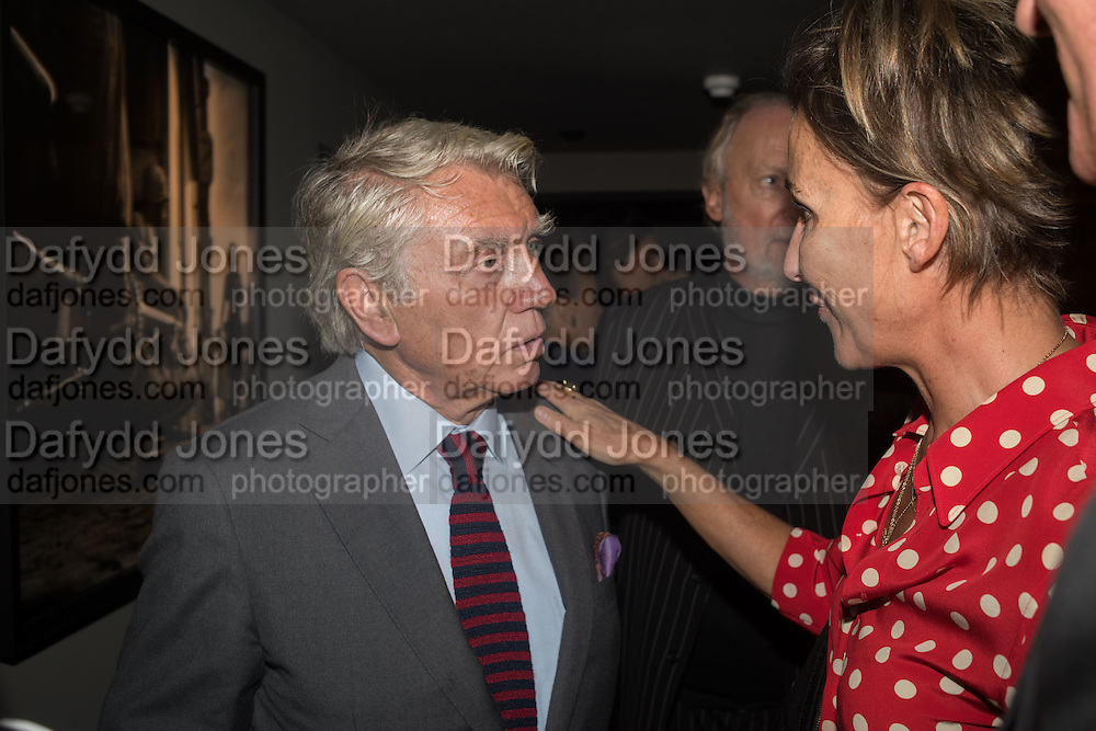 DON MCCULLIN; AOIFE O'BRIEN; , Don McCullin: Eighty. Hamiltons, Carlos Place, London. 24 September 2015.