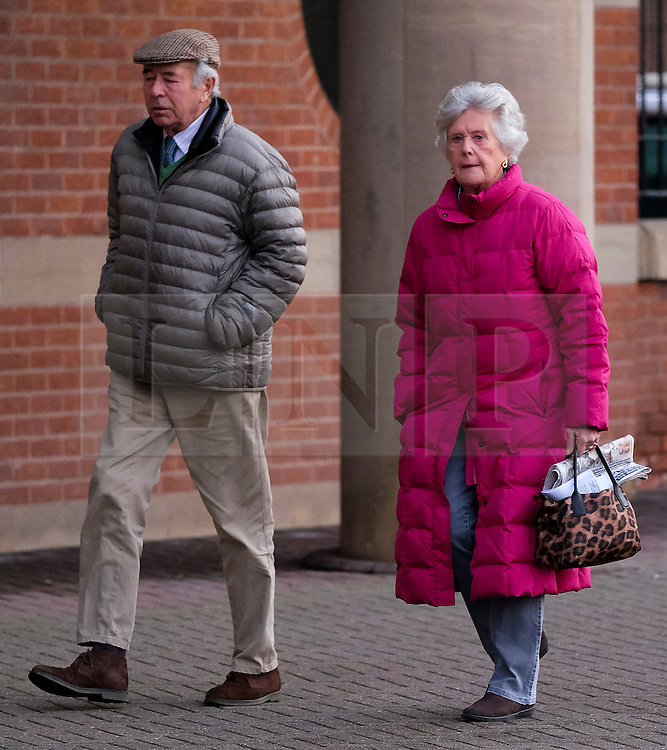 &copy; Licensed to London News Pictures. <br /> 03/01/2017. <br /> Middlesbrough, UK.  <br /> <br /> Lady SUSAN ZETLAND, of the Zetland Estate, north of Richmond, arrives at Teesside Crown Court with her husband, Lord Zetland after being charged with dangerous driving following a crash on the A66 in July 2016.<br /> <br /> The 76-year-old, whose family owns 12,000 acres of North Yorkshire was behind the wheel of her &pound;30,000 Subaru Outback 4X4 when it was involved in a collision with two HGVs and another car. <br /> <br /> Photo credit: Ian Forsyth/LNP