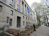 The United States Department of Justice in the Robert F. Kennedy Department of Justice Building in Washington, DC on Monday, April 15, 2013.