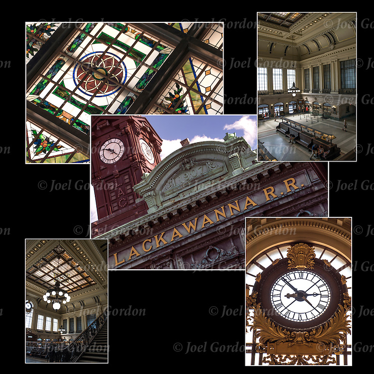 The Hoboken Terminal and Clock Tower was  built in 1907, is a two-story Beaux-Arts structure designed by Kenneth Murchison, an architect with the firm of McKim, Mead &amp; White, which designed the original Pennsylvania Station in Manhattan. <br />