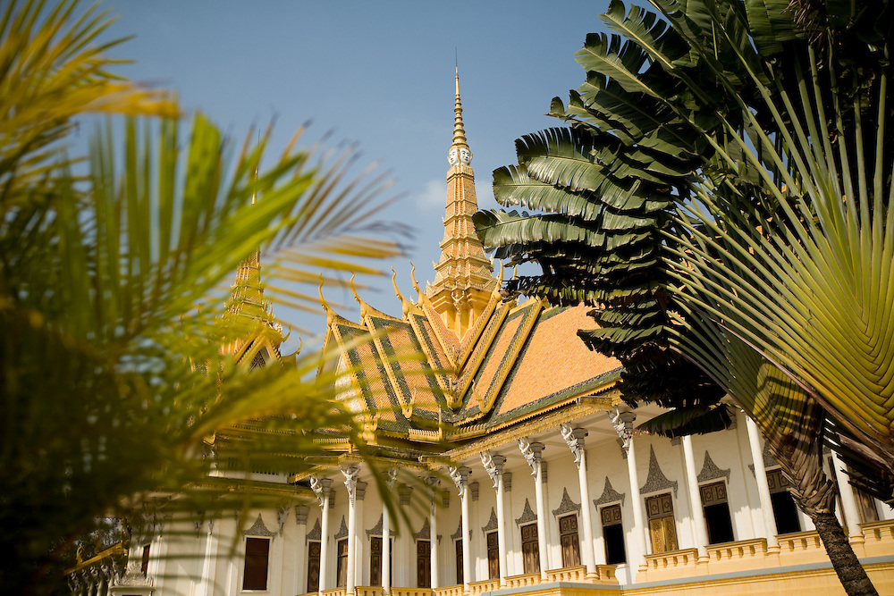 at the Royal Palace, Phnom Penh, Cambodia