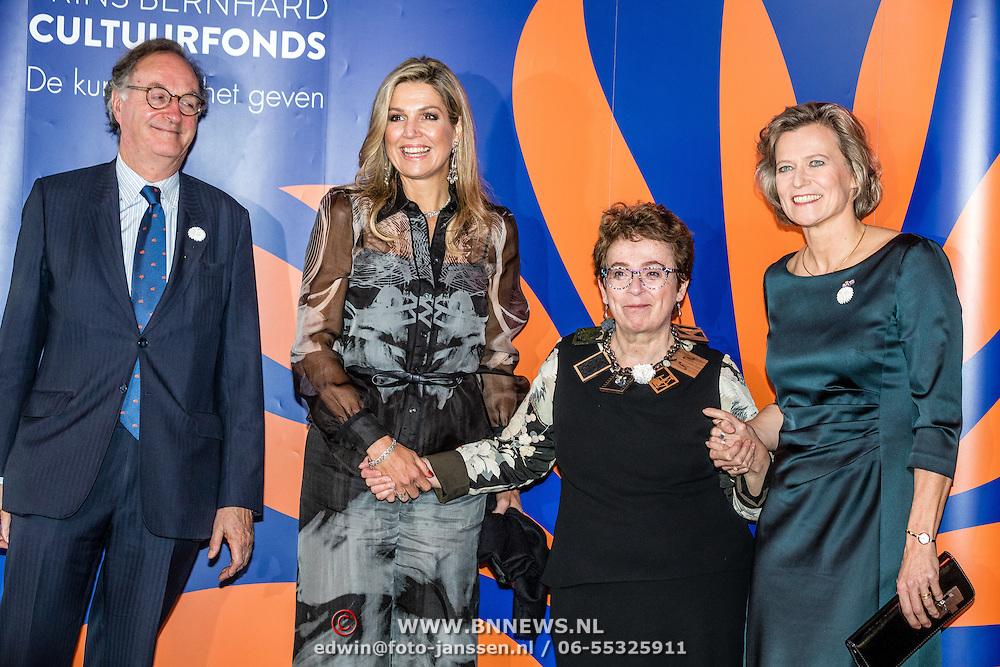 NLD/Amsterdam/20161202 - Máxima bij uitreiking Pr. Bernhard Cultuurfonds Prijs 2016, Heddy Honingmann