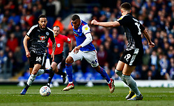 Collin Quaner of Ipswich Town sprints forward - Mandatory by-line: Phil Chaplin/JMP - FOOTBALL - Portman Road - Ipswich, England - Ipswich Town v Reading - Sky Bet Championship