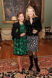 A party to promote the exclusive Puntacana Resort & Club - the Caribbean's Premier Golf & Beach Resort Destination, was held at Spencer House, London on 13th May 2010.<br /> <br /> Picture shows:- Left to right, DEBORAH BENNETT and PHILIPPA THORP