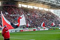 UTRECHT - FC Utrecht - SC Heerenveen , Voetbal , Eredivisie , Seizoen 2016/2017 , Stadion Galgenwaard , 05-02-2017 ,   Sfeer bij opkomst