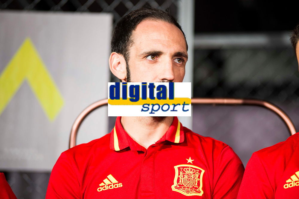 Juanfran during the opening of the corner of the Spanish team in its new Adidas Store Gran Vía in Madrid. June 05 2016. (ALTERPHOTOS/Borja B.Hojas)