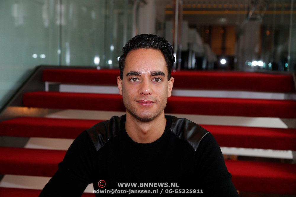NLD/Amsterdam/20130301 - Perspresentatie Jesus Christ Superstar, Freek Bartels