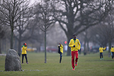 20140328 VM Halvmaraton - Etiopere træner