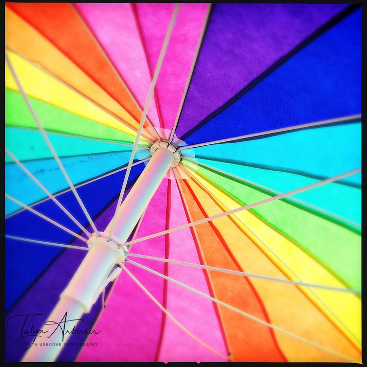 Beach umbrella - Galveston, Texas