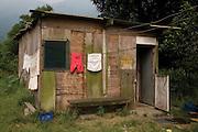 Silvinha's house, Jardim São Marcos favela. Cubatão, Brazil, 2008