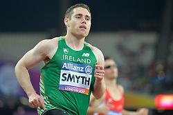 16/07/2017 : Jason Smyth (IRL), Men's 100m, T13, at the 2017 World Para Athletics Championships, Olympic Stadium, London, United Kingdom