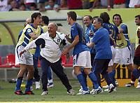 Foto Omega/Colombo<br /> 26/06/2006 Campionati Mondiali di Calcio 2006<br /> Ottavi di Finale <br /> Italia -Australia  <br /> nella foto :  Filippo Inzaghi e Francesco Totti