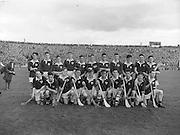 Neg no:.A786/43507-04366...17081958AISFCSF..17.08.1958...All Ireland Senior Football Championship - Semi-Final..Dublin.02-07.Galway.01-09...Dublin. ..P. O'Flaherty, .L. Foley, .M. Wilson, .Joe Timmons, .C. O'Leary, .J. Crowley,. J. Boyle, .John Timmons, .S. Murray, .P. Haughey, .O. Freaney, .D. Ferguson, .P. Farnan, .J. Joyce, .K. Heffernan (Captain).Subs: .Maurice Whelon for Murray; .P. Downey for John Timmons...Leinster. ..O. Walsh (Kilkenny), N. Drumgoole (Dublin), N. ODonnell (Wexford), J. Maher (Kilkenny), J. English (Wexford), P. Buggy, J. McGovern, M. Brophy, J. Sutton, D. Heaslip (Kilkenny), E. Wheeler (Wexford), C. OBrien (Laois), M. Kenny, W. Dwyer, S. Clohosey (Kilkenny).Sub. W. Rackard (Wexford) for Buggy.