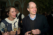 CHARLOTTE AND ALAIN DE BOTTON, Launch of the new magazine 'Standpoint'. Wallace Collection. Manchester Sq. London. 28 May 2008.  *** Local Caption *** -DO NOT ARCHIVE-© Copyright Photograph by Dafydd Jones. 248 Clapham Rd. London SW9 0PZ. Tel 0207 820 0771. www.dafjones.com.