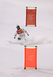 Japan's Nobuyuki Nishi in the Men's Moguls Final Qualification during day three of the PyeongChang 2018 Winter Olympic Games in South Korea.