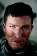Specialist Shawn Hanna, from Woodbury, Minnesota, of the 82nd Airborne's, 1/508 PIR, Alpha Company, Third Platoon.